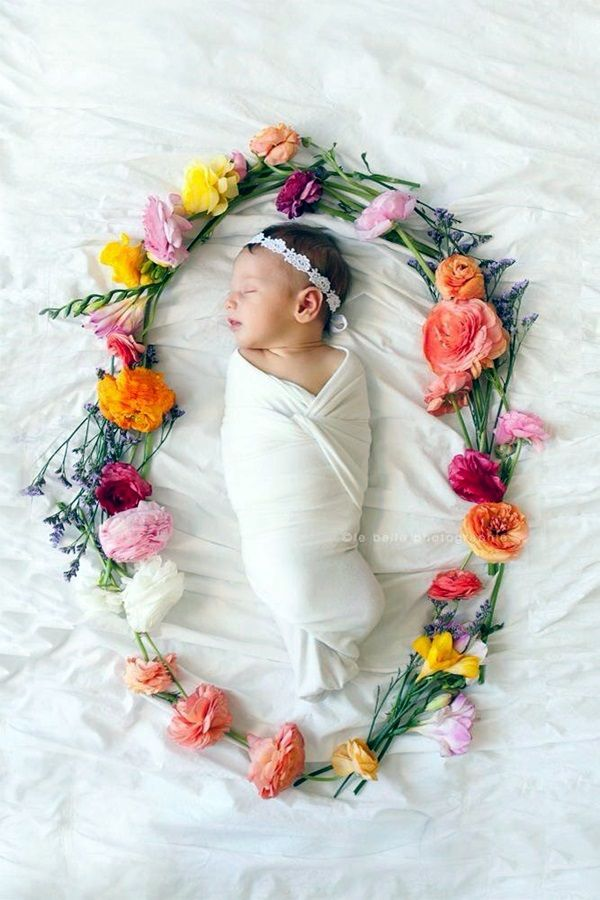 40 Adorable Newborn Photography Ideas For Your Junior - Bored Art