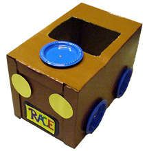 crafts kids race car easy to make kaboosecom