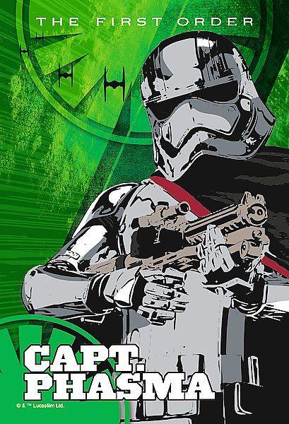 Dětské puzzle TREFL 54 dílků - Star Wars: Kapitánka Phasma