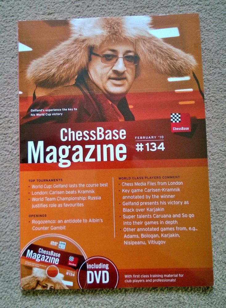 ChessBase Magazine and DVD February 10 # 134