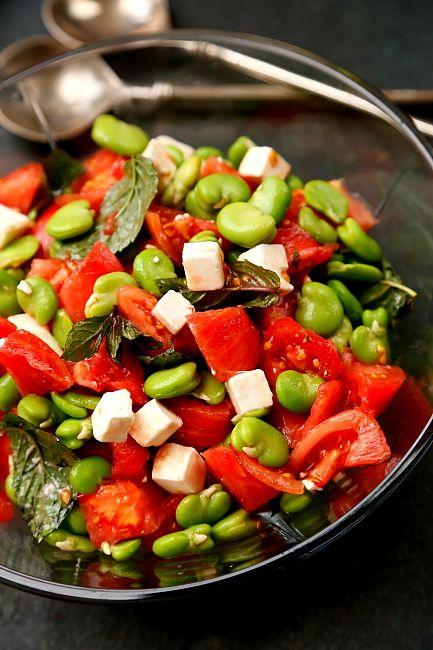 Bob pomidory feta