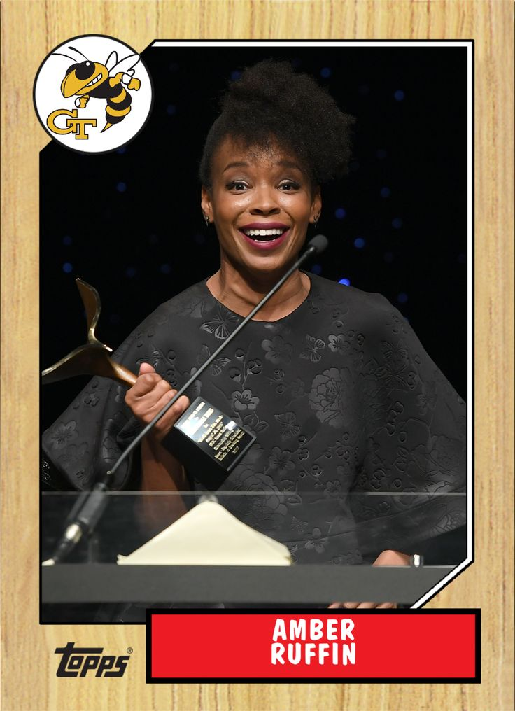 Amber Ruffin is a comedian who has been a writer for Late Night with Seth Meyers since 2014. When she joined the show, she became the first American woman of color to write for a late-night network comedy. (Wikipedia)
