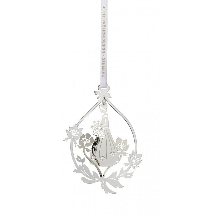 Flower girl mobile, Sterling silver