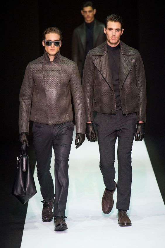 Emporio Armani Fashion Show & more Details