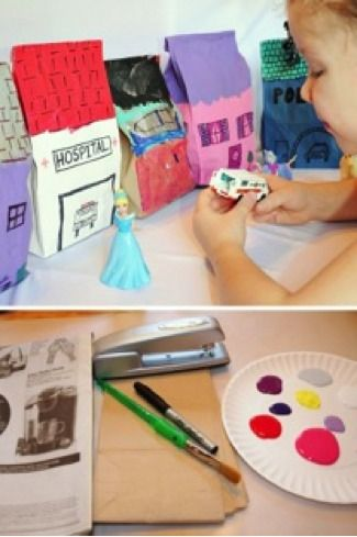 DIY bag city-bring your child's imagination to life.
