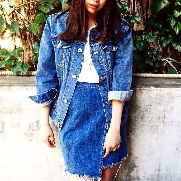 #JEANASIS#ジーナシス #ジーナシス東京#scrapbookjeanasis #scrapbook_news#ootd#fashion#style#instagood#tokyo#mode#women#dotstlook#new#newin#spring #skirt##denim#denimjacket#blue