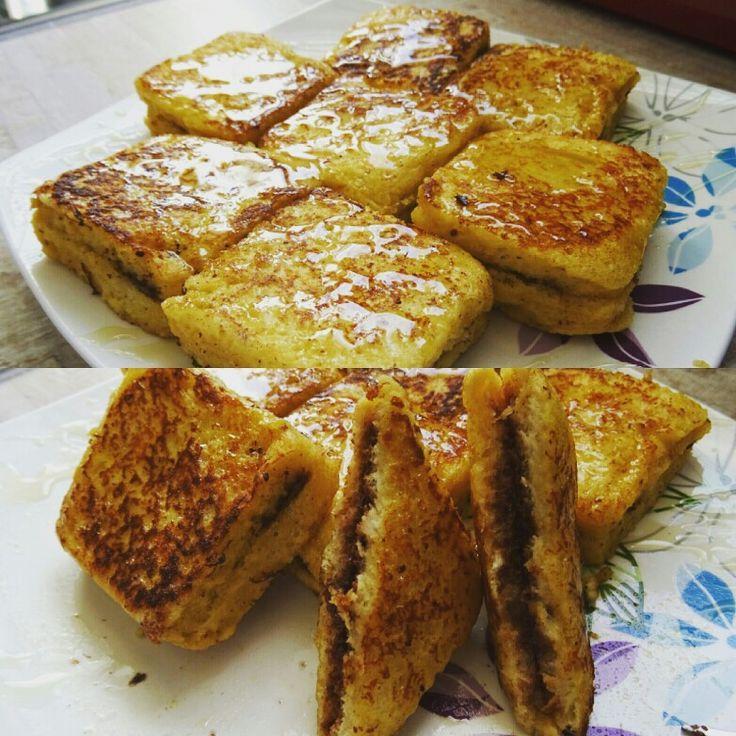 Γαλλικό τοστ 🍞🍫🍯 (French toast)