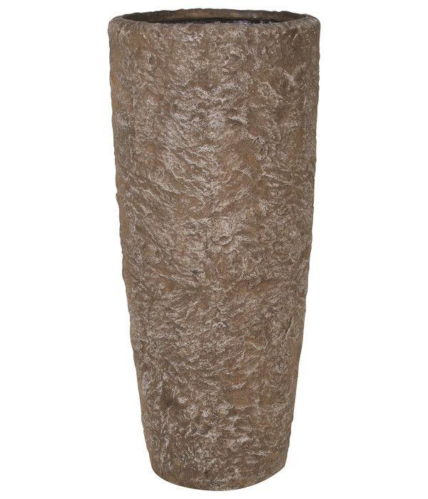 Fleur Ami Polyresin Rocky Pflanzgefass Sepia Granit Dehner In