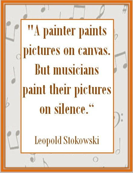 I like using these to place on my SmartBoard as the students walk into the room. They look visually pleasing and gets the students in a music mind frame from the start.    A selection of 26 beautiful and inspiring quotes about music!   ♫ CLICK through to preview or save for later!  ♫