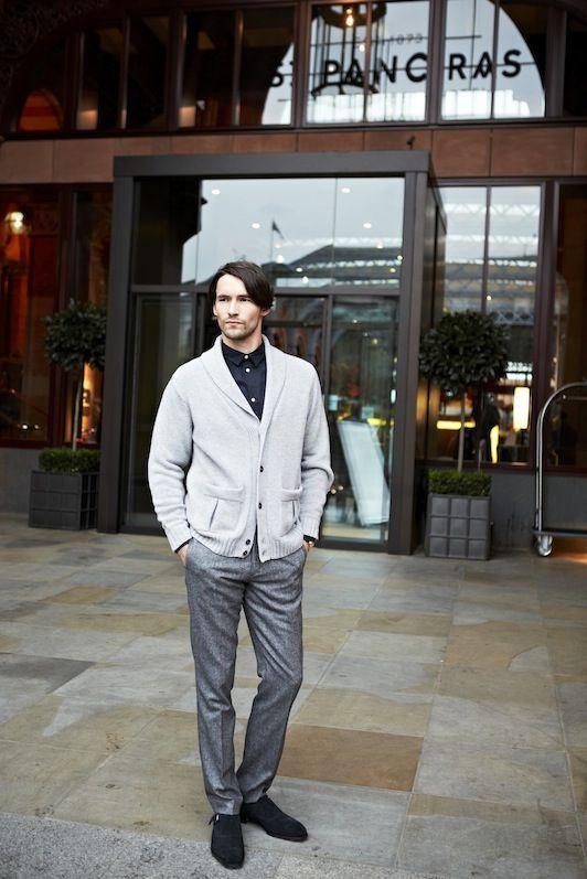 John Smedley AW13 Menswear www.johnsmedley.com
