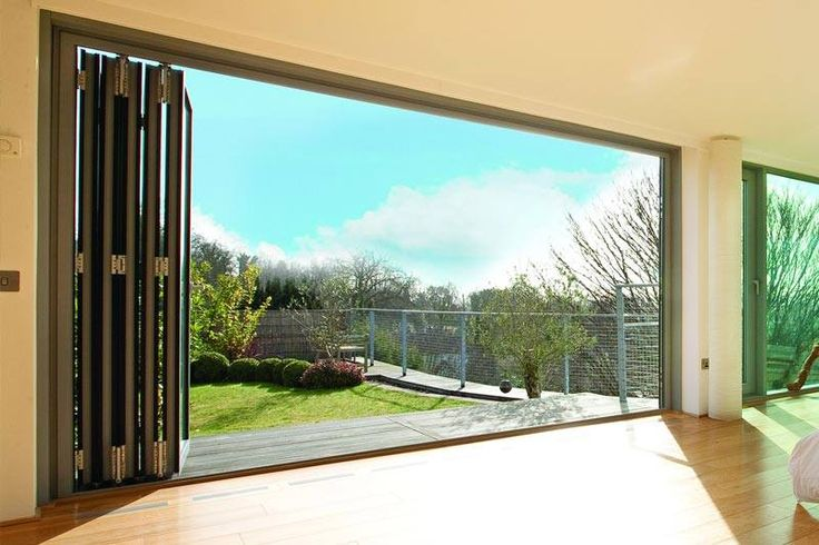 A set of Schuco bi-folding doors which we stock. For your free quote on your own set of bi-folding doors please visit www.csggroup.co.uk