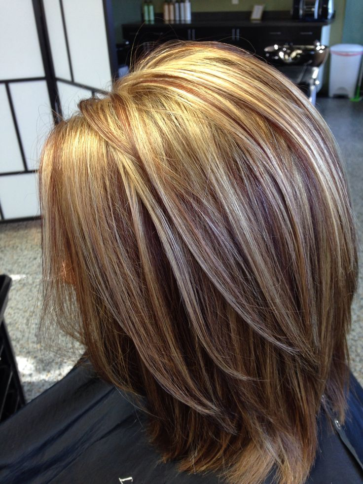 highlights styles for hair this color combination my work my 4517