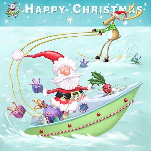 Рождественские коробки - Бумага D'Art Shop©REUBEN Mc HUGH