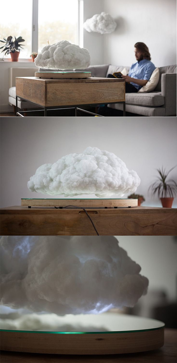 'Making Weather' puts a spin on the quantum levitation speakers, it isn't really a levitating speaker as much as it's an awe-inspiring piece of art, the hyperrealistic cumulus cloud hovers over a magnetic plate, beneath its fluffy exterior lies a pretty darn powerful wireless speaker... READ MORE at Yanko Design !