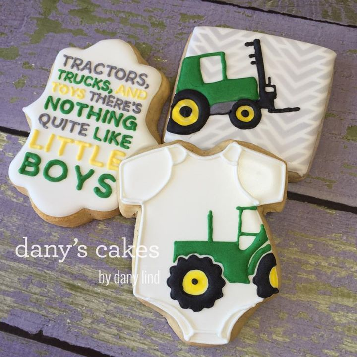 Dany's Cakes - Baby shower cookies