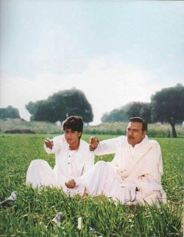 Shahrukh Khan & Amrish Puri / Dilwale Dulhania Le Jayenge