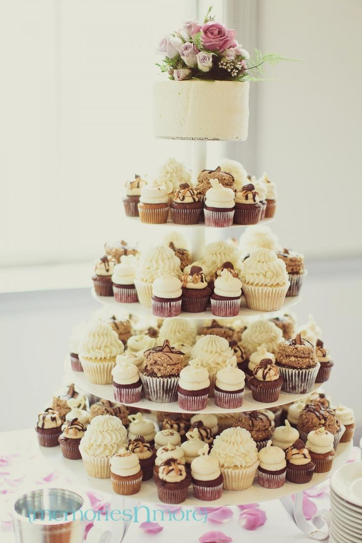 best 20 wedding cupcake towers ideas on pinterest. Black Bedroom Furniture Sets. Home Design Ideas