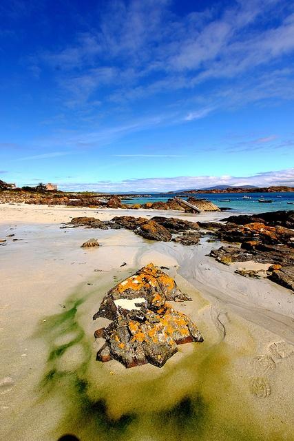 Iona, Scotland- slept on this beach