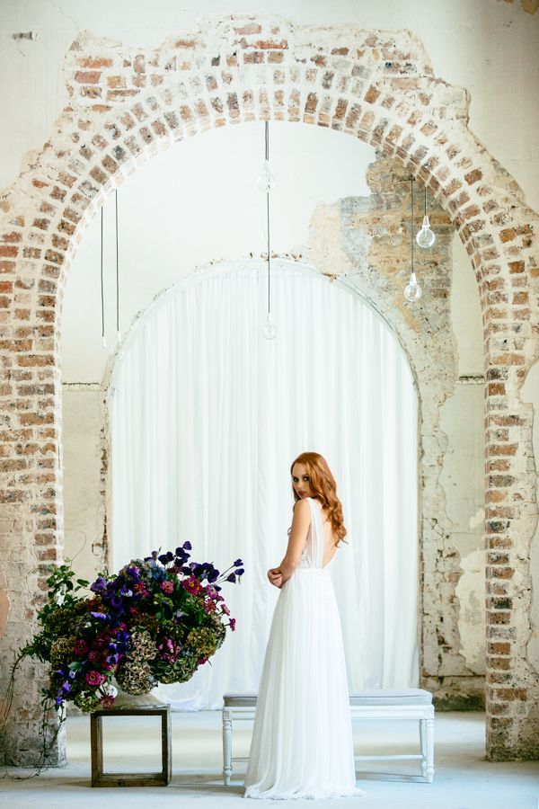 Rose & Delilah 'Grace' Available at Savvy Brides. Image by Milton Gan Photography