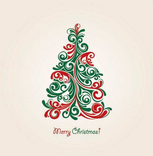 Hungarian Christmas tree art