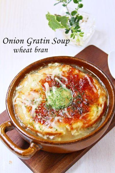 いつものオニオングラタンスープを車麩と生麩を使って作ってみました。2種類のお麩はオーブントースターで軽く焼いてから、スープに加えると美味しさが、長持ちします~♫美味しくて簡単ですのでぜひ~。(´艸`*)