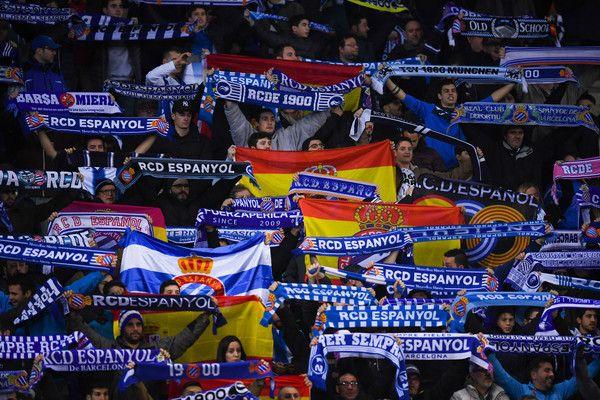 Espanyol V Barcelona Spanish Copa Del Rey Barca Barcelona