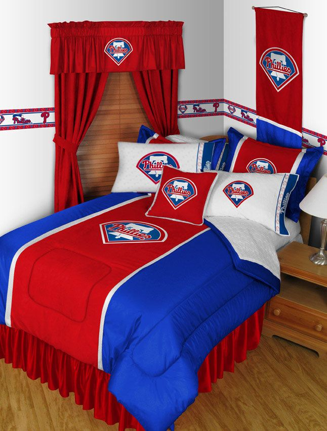 Image Of 2 Pack MLB Phillies Pillowcases