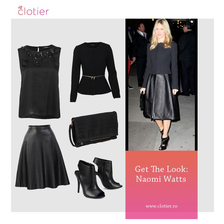 Get The Look: Naomi Watts – All Black ‹ Clotier