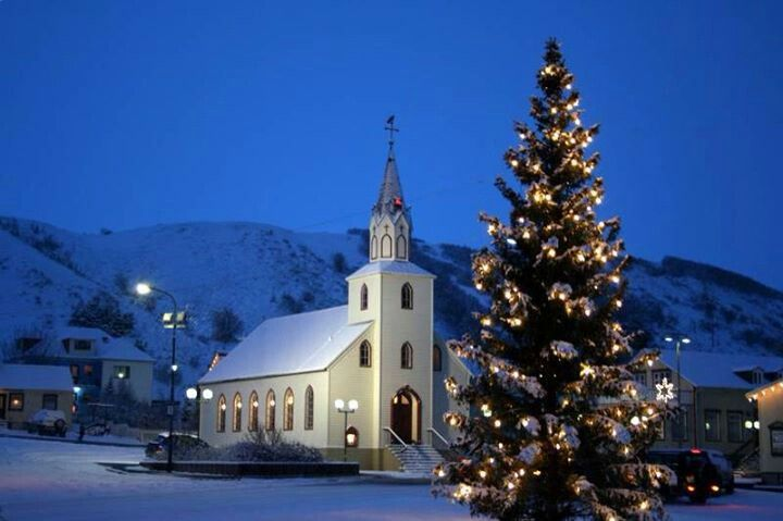 Christmas in Iceland wow to be here during Christmas siting in this little church. Would  be such a blessing