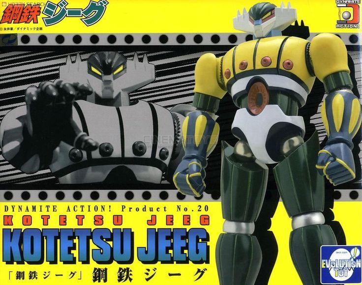 Kotetsu Steel Jeeg Robot D acciaio Dynamite Action n.20 Evolution Toy Robots Jap