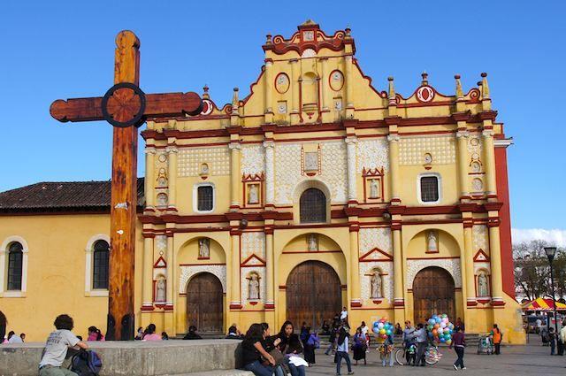 Catedral de San Cristóbal, San Cristóbal de las Casas