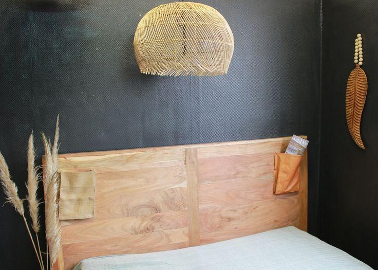 Tête de lit bois design