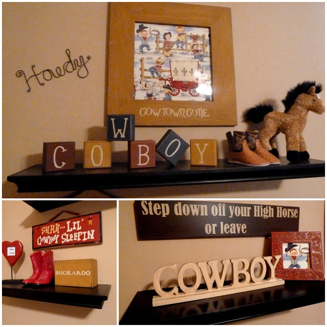 CUTE cowboy nursery without being over done