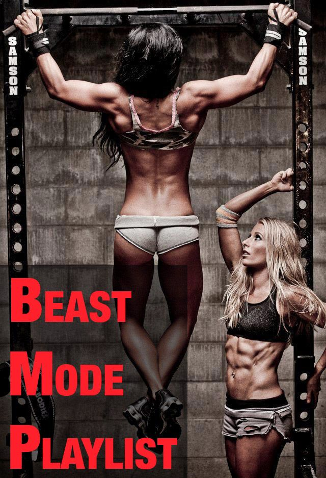 BEAST MODE ON. (YouTube playlist)