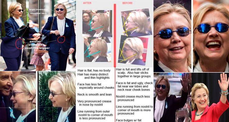 BODY DOUBLE! Hillary Clinton AND Teresa Barnwell - 911 Memorial Ceremony...