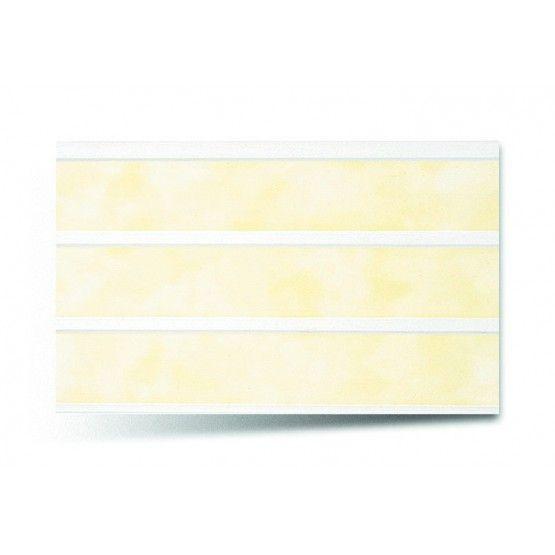 Вагонка ПВХ трехсекционная 242 жёлтый