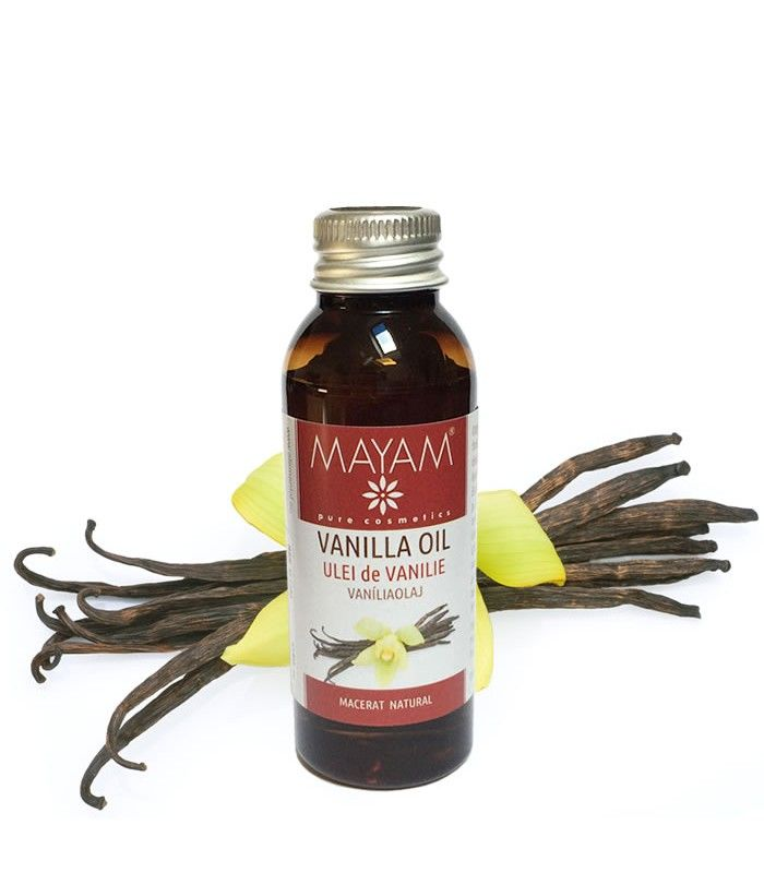 Obţinut prin macerarea într-o bază emolientă (ulei de cocos fracționat) foarte fină și non-grasă a păstăilor de vanilie, uleiul areun parfum discret caracteristic, o textură lejeră și foarte plăcută. Este ușor absorbit de piele, se poate folosi ca ataresau ca ingredient în creme, seruri, rujuriși alte preparate cosmetice de îngrijire a pielii sau de machiaj.