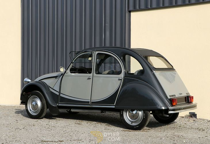 Citroen 2cv Charleston Sedan Saloon 1988 Grey Charleston Car For Sale 210740 Cars For Sale Citroen 2cv Citroen