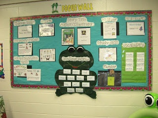 Frog Theme Classroom- several good catch phrases and décor ideas to consider!