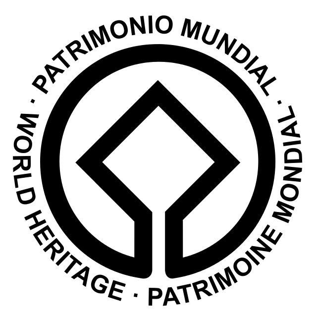 Logotipo del programa Patrimonio de la Humanidad de la Unesco.