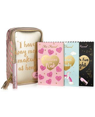 Too Faced 5-Pc. Limited Edition Year-Round Beauty Agenda Set - Makeup - Beauty - Macy's
