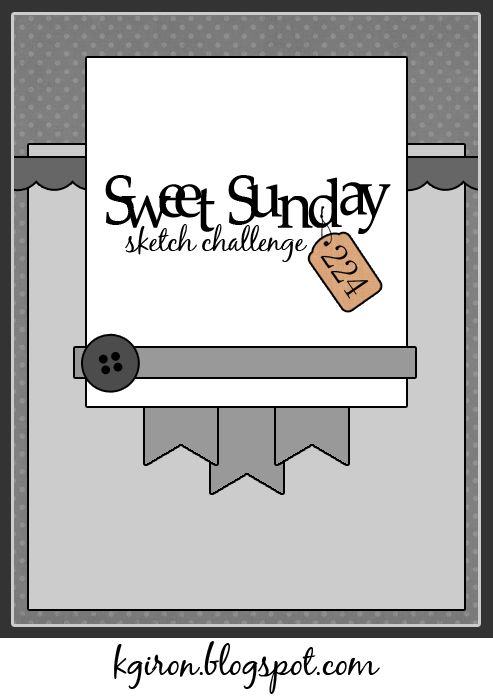 the sweetest thing...: Sweet Sunday Sketch Challenge 224