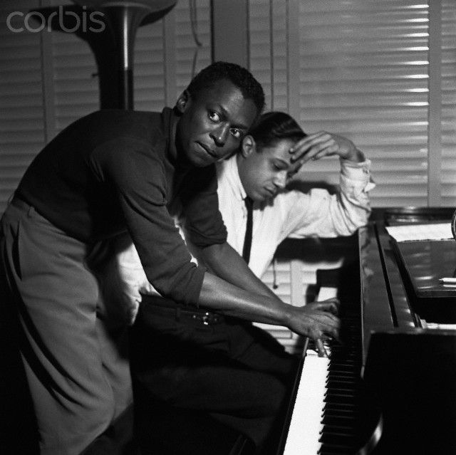 horace silver | Miles Davis and Horace Silver - Q2001195 - Rights Managed - Stock ...