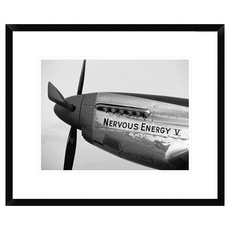 Global Gallery Fighter Plane Nose Art I Framed Wall Art - DPF-456593-1824-266