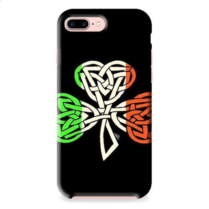 Irish Flag Celtic Shamrock iPhone 7 3D Case Dewantary