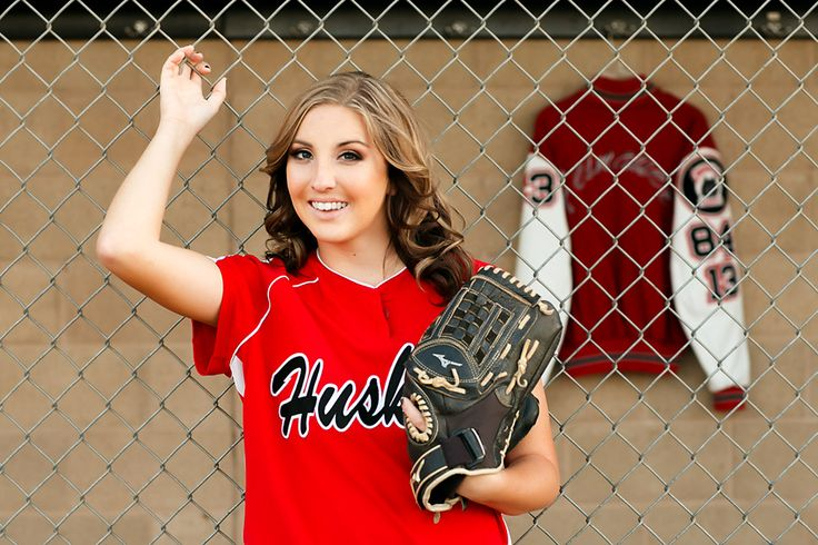 High School Senior Portraits in a softball field by Holding & Co. Photography in Corona, Ca