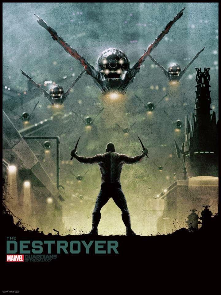 Cool Art: 'Guardians Of The Galaxy' Drax The Destroyer by Matt Ferguson