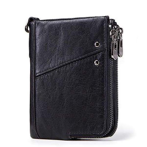 Advent Calendar Jungle Animals Wallet for Women Leather Zipper Phone Coin Purse