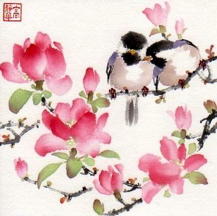 Beautiful watercolors by Jinghua Gao Dalia.  She is so gifted!      www.dailypainters.com/.../ Jinghua-Gao-Dalia