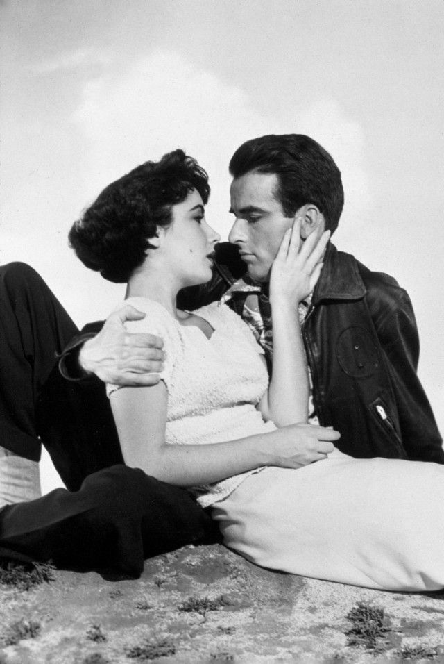 Elizabeth Taylor & Montgomery Clift - It's almost too much beauty